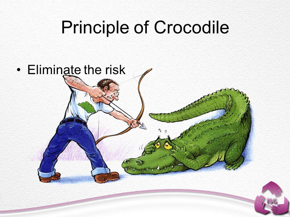 Principle of Crocodile Eliminate the risk