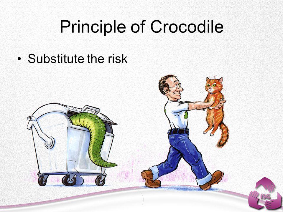 Principle of Crocodile Substitute the risk