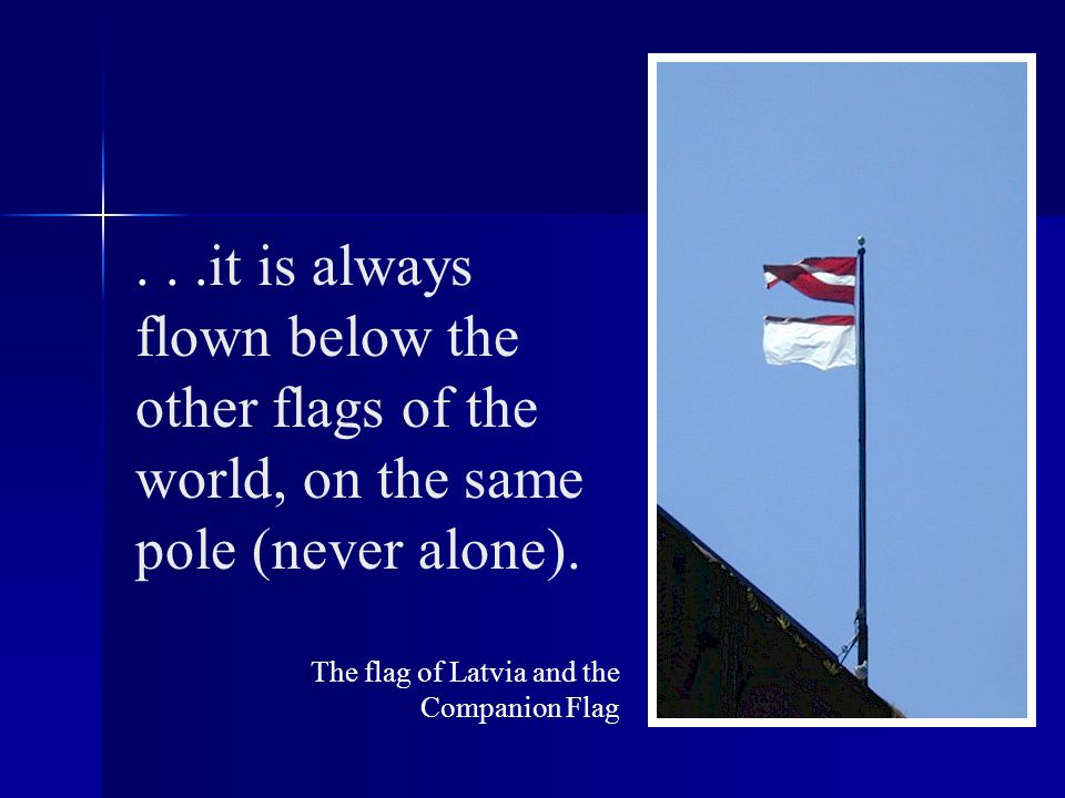 The Companion Flag has been adopted by schools, universities, businesses, organizations and individuals in over 13 countries...