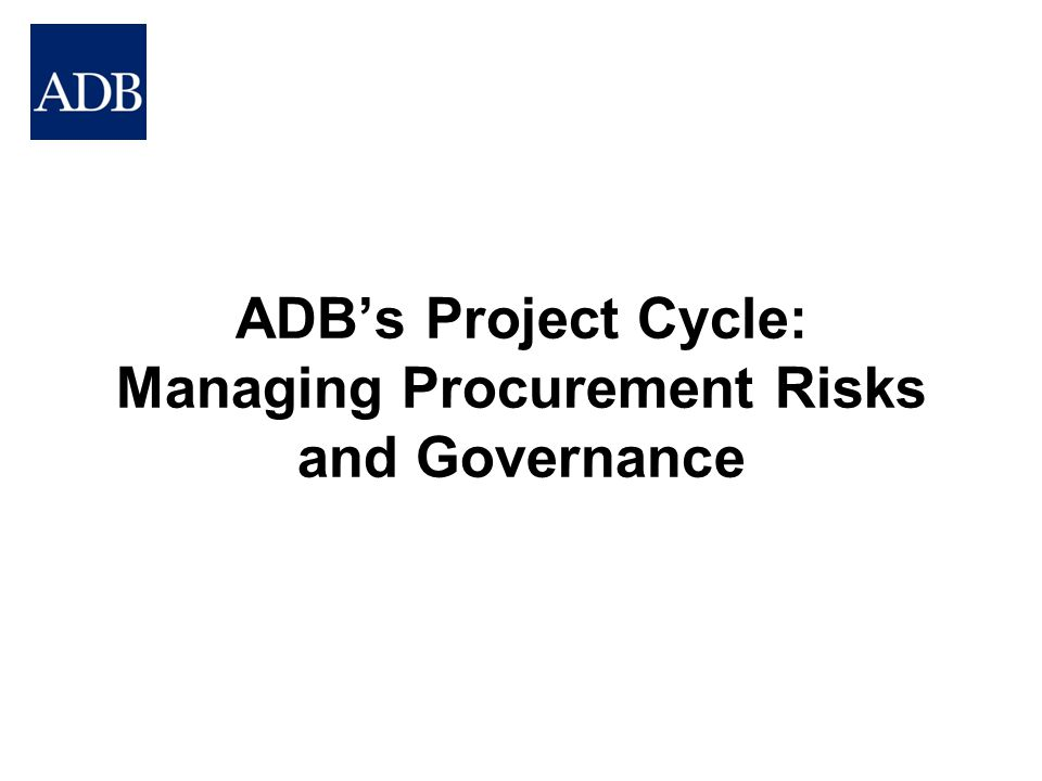 What are the implications of a risky procurement environment?
