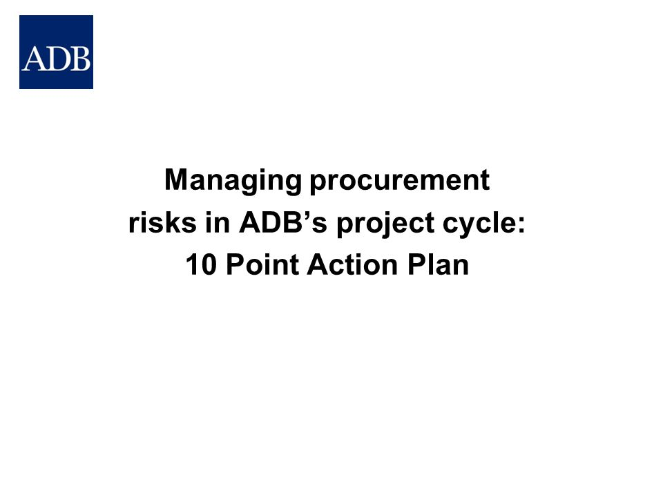 Improved Procurement Governance at CPS Stage Example of Country Procurement Profile showing Written Rules v.