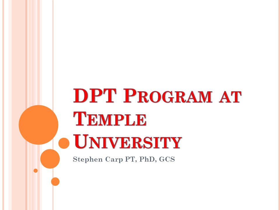 Stephen Carp PT, PhD, GCS