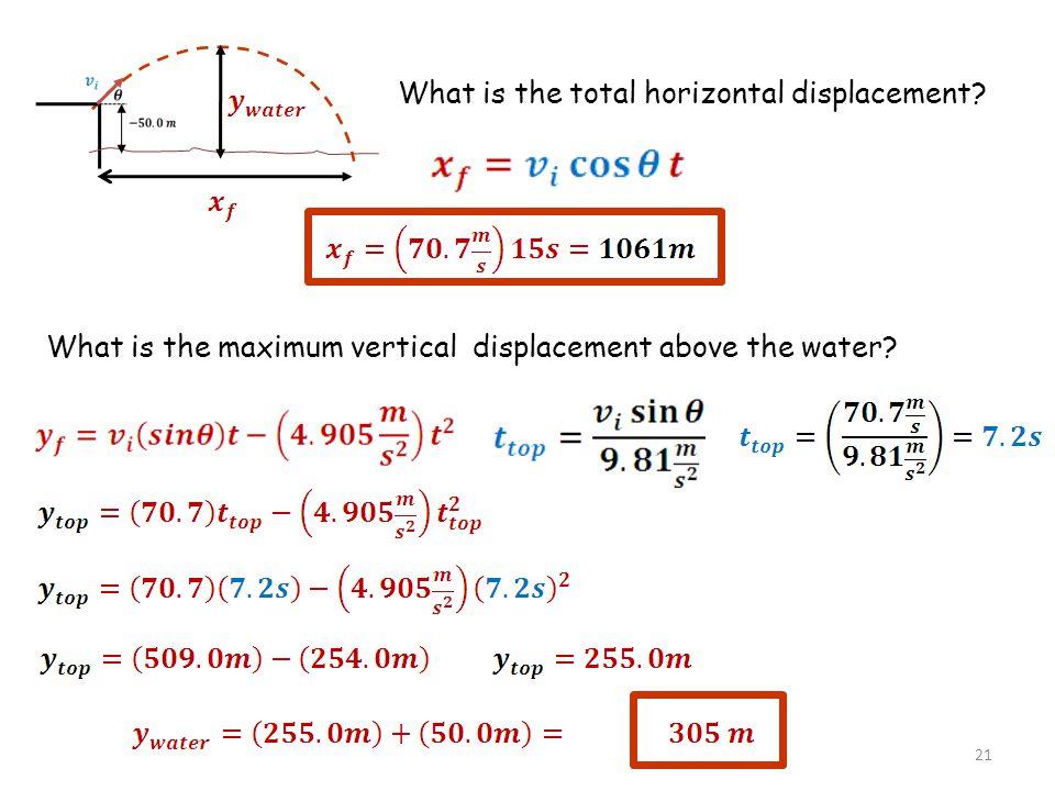 22 Sample Problem.82 s