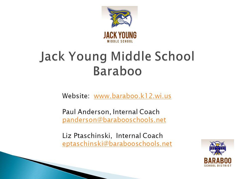 Website: www.baraboo.k12.wi.uswww.baraboo.k12.wi.us Paul Anderson, Internal Coach panderson@barabooschools.net Liz Ptaschinski, Internal Coach eptaschinski@barabooschools.net