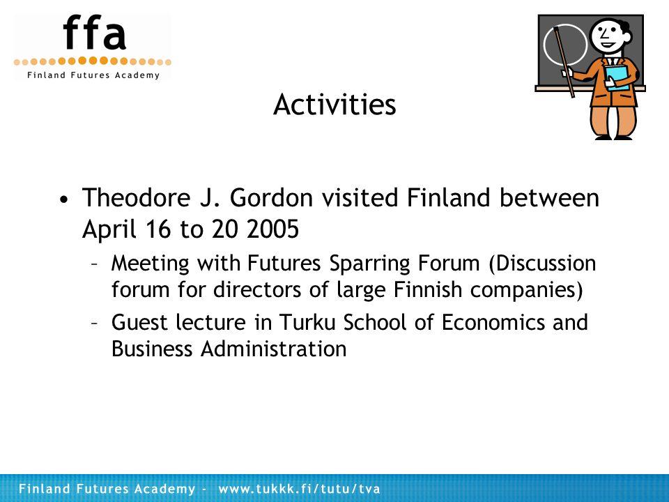 Activities Theodore J.