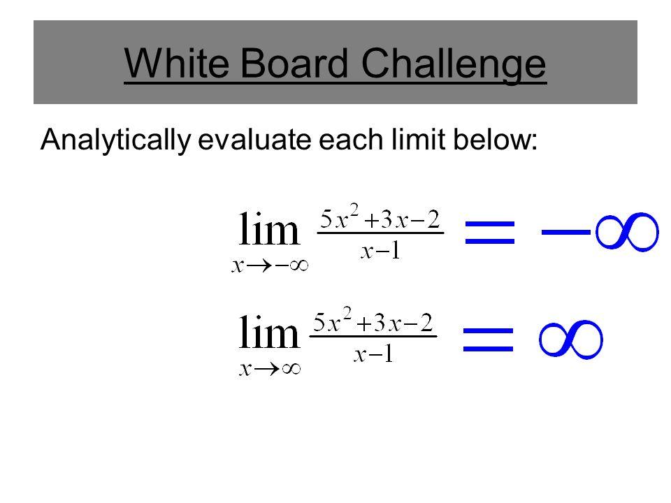 Then y = 1 is a horizontal asymptote.
