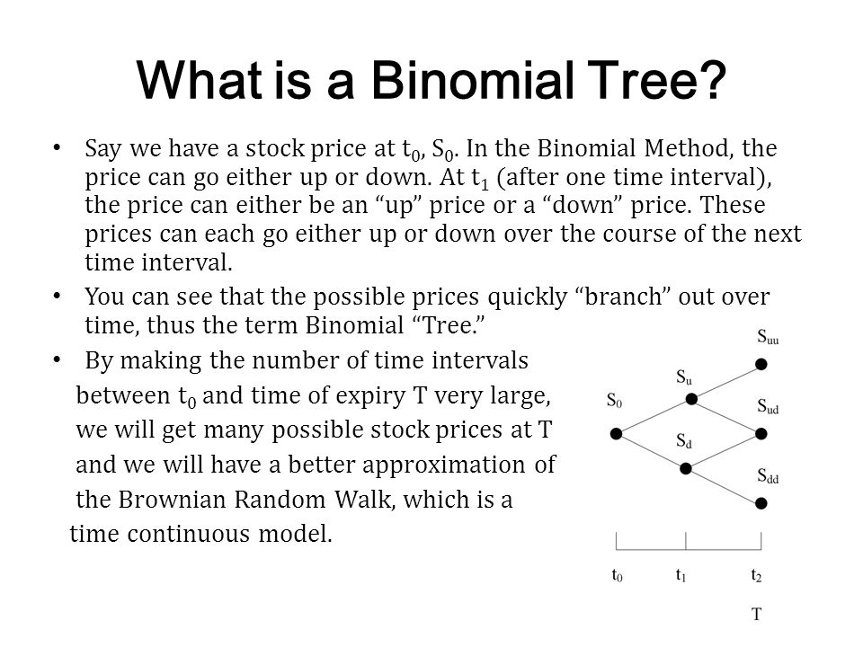 Compare to Black-Scholes The Binomial Tree Method gave us a price of $13.53 on that European call option.
