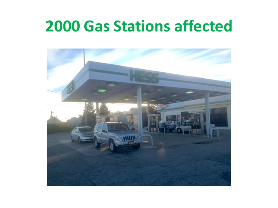 2000 Gas Stations affected