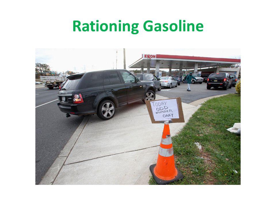 Rationing Gasoline
