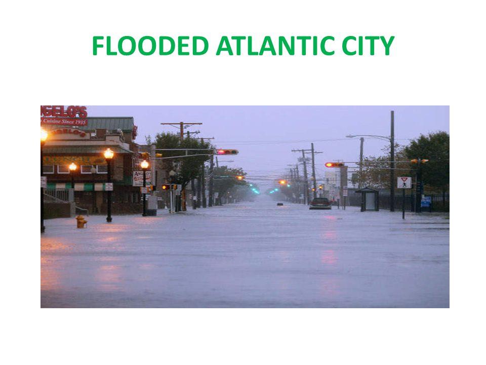 FLOODED ATLANTIC CITY