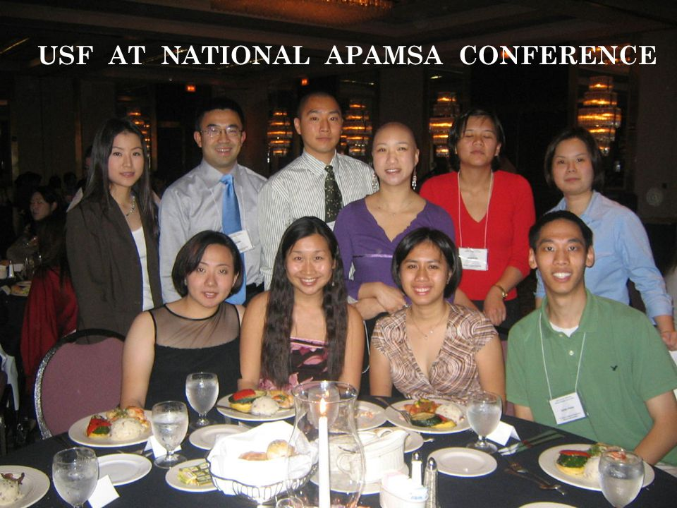 USF AT NATIONAL APAMSA CONFERENCE