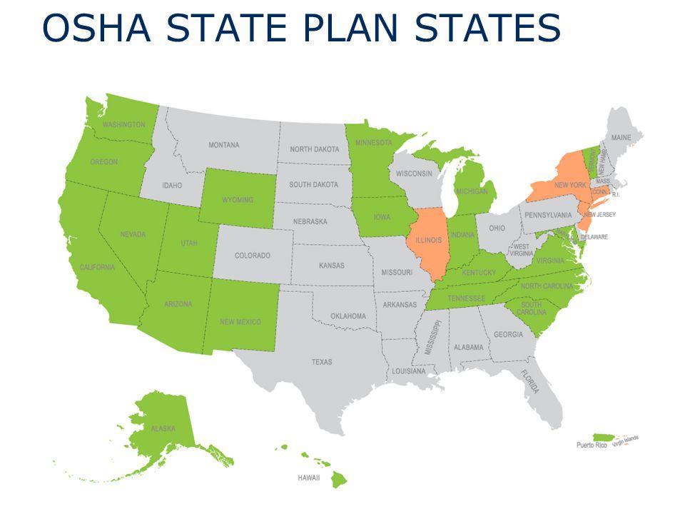 OSHA STATE PLAN STATES