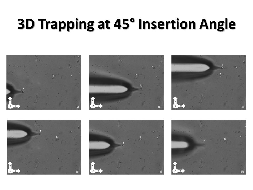 3D Trapping at 45° Insertion Angle