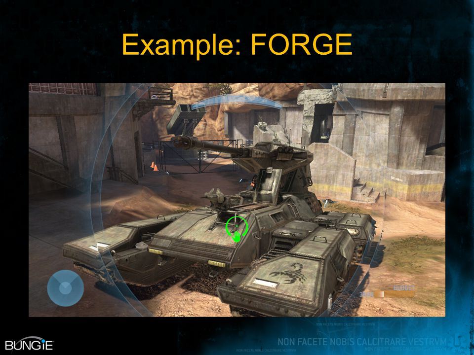 Example: FORGE