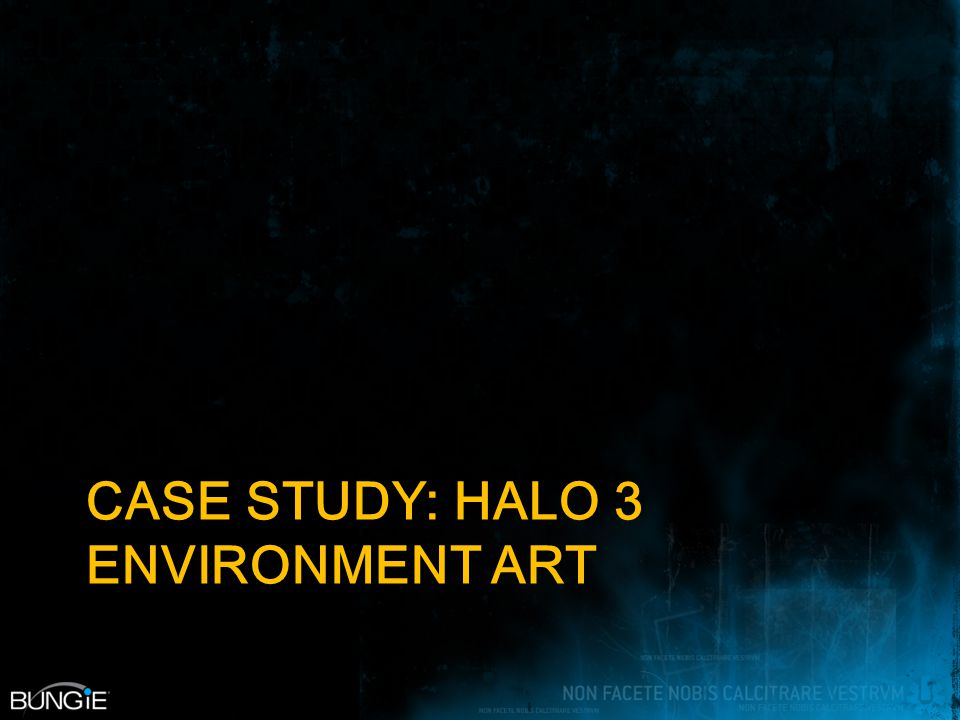 CASE STUDY: HALO 3 ENVIRONMENT ART
