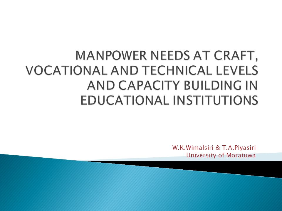 FOR OIL AND GAS INDUSTRY W.K.Wimalsiri & T.A.Piyasiri University of Moratuwa