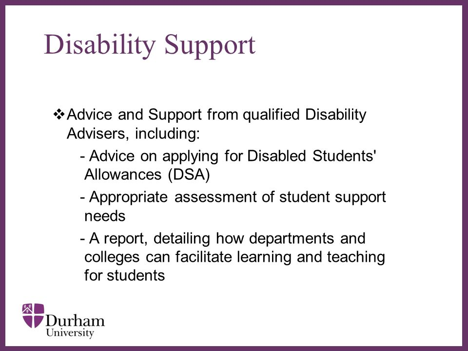 ∂ Contact Us Durham CampusQueen's Campus Palatine Centre Stockton Road Durham DH1 3LE United Kingdom Telephone +44(0) 191 334 8115 disability.support@durham.ac.uk Holliday Building, Queen s Campus University Boulevard Thornaby Stockton-on-Tees TS17 6BH United Kingdom Telephone +44(0) 191 334 8115 disability.support@durham.ac.uk