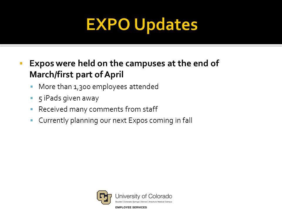 April 28 – May 16 5 p.m.MDT Enroll online through the portal.