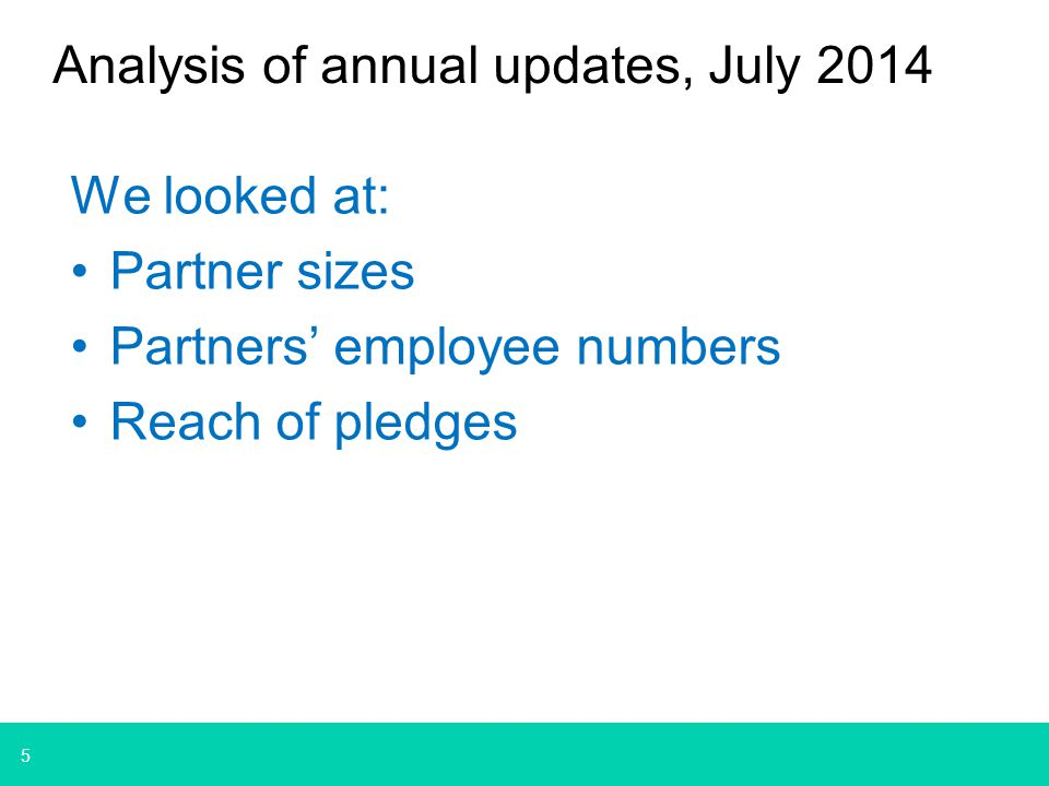 6 July 2014 analysis DH – Leading the nation's health and care