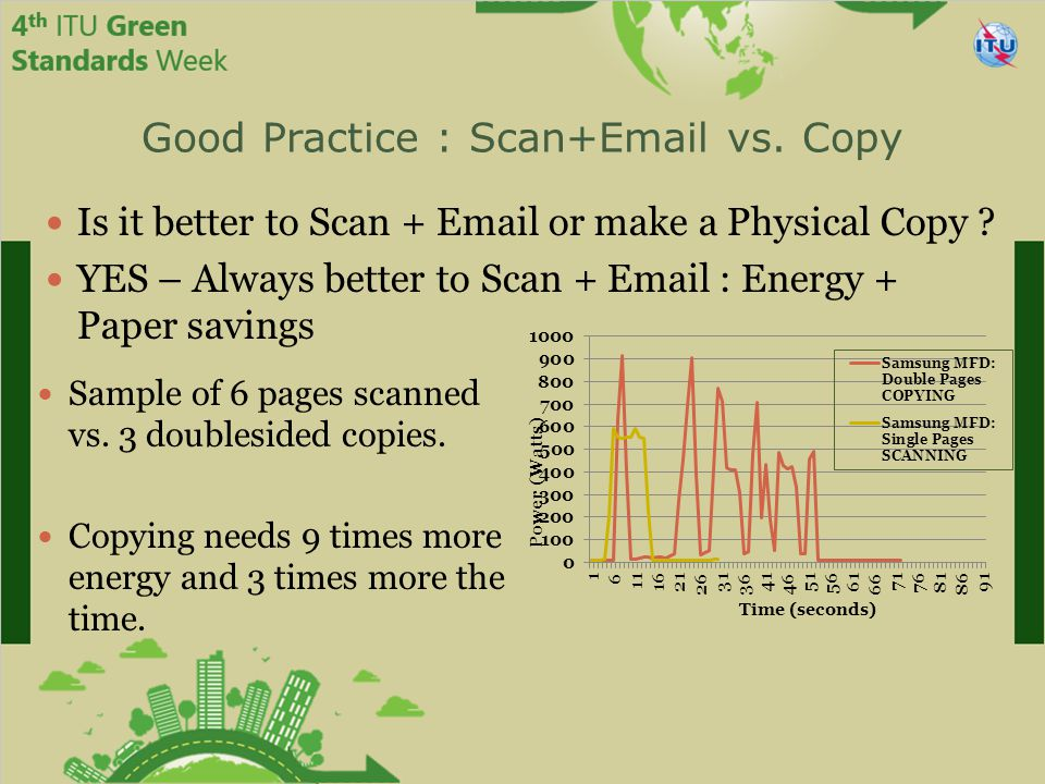 Good Practice : Scan+Email vs. Copy Is it better to Scan + Email or make a Physical Copy .