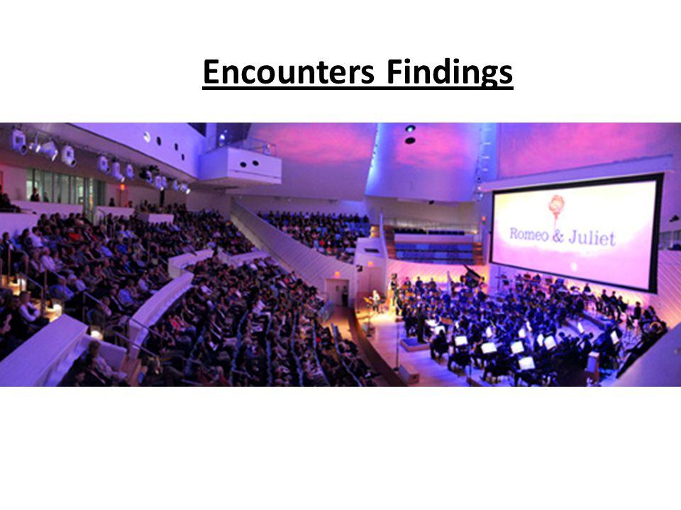 Encounters Findings