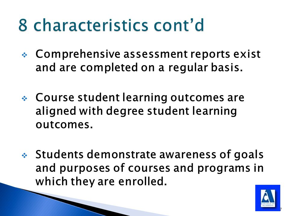  Comprehensive assessment reports exist and are completed on a regular basis.