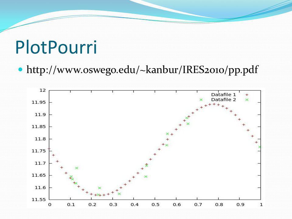 PlotPourri http://www.oswego.edu/~kanbur/IRES2010/pp.pdf