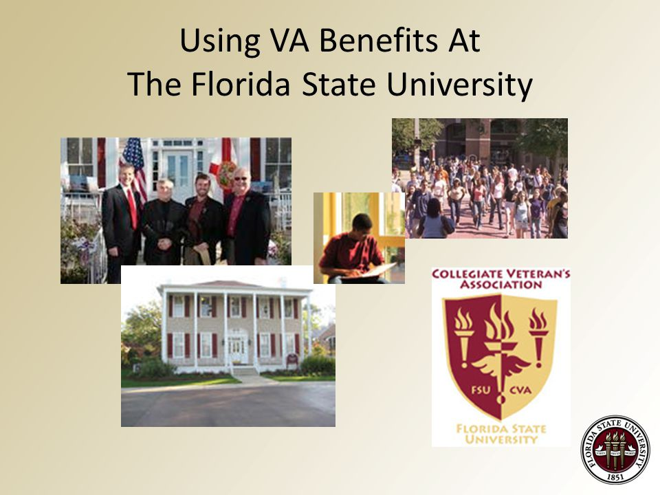 Using VA Benefits At The Florida State University