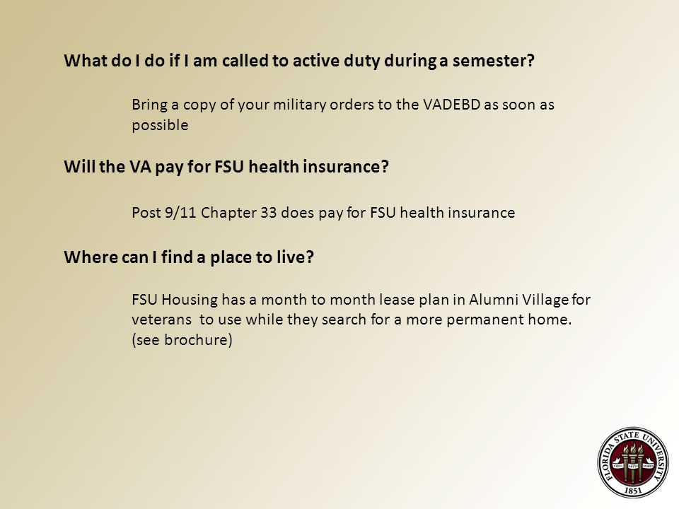 What do I do if I am called to active duty during a semester.
