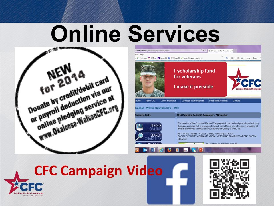 Online Services 20 CFC Campaign Video