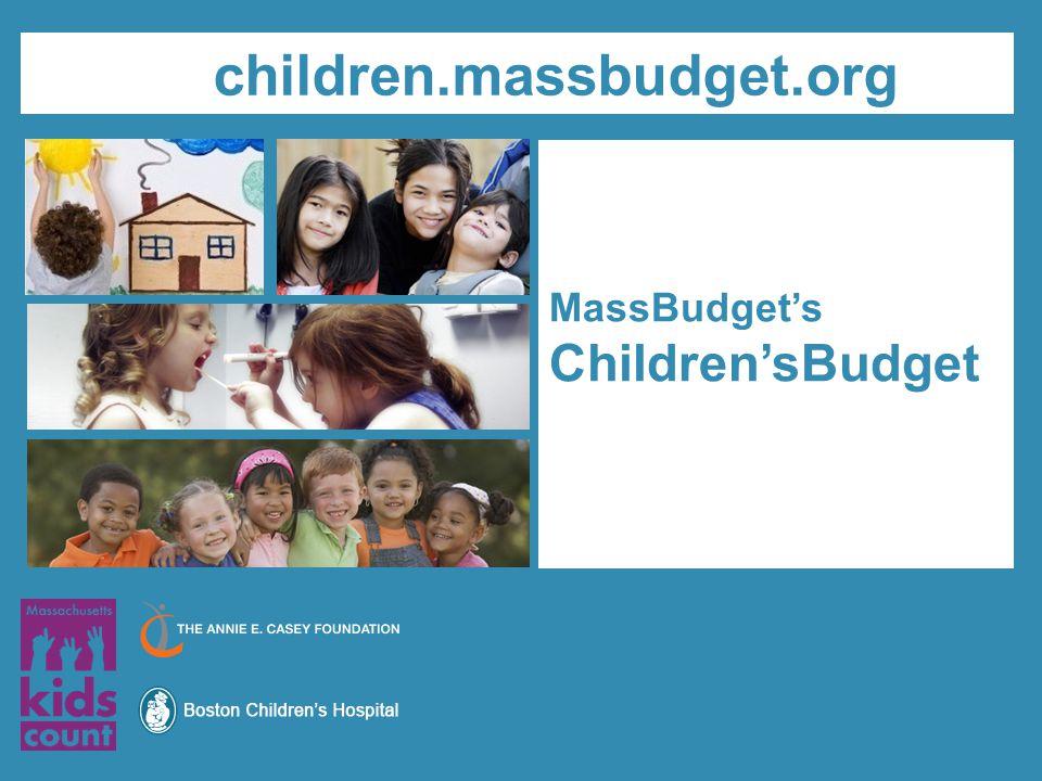 MassBudget's Children'sBudget children.massbudget.org