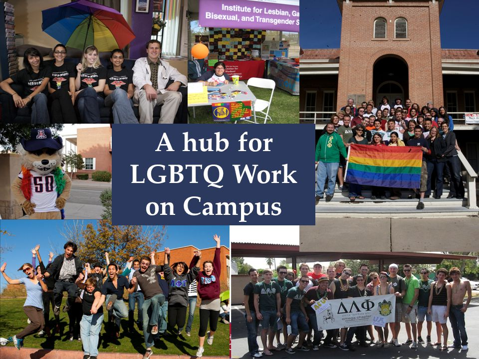 A hub for LGBTQ Work on Campus