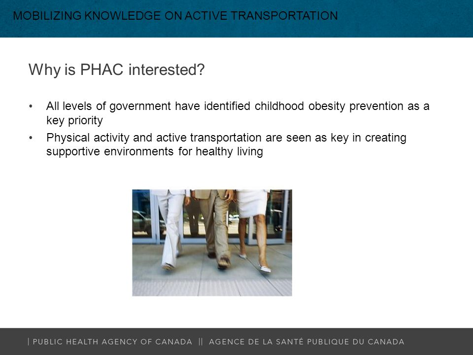 Why is PHAC interested.