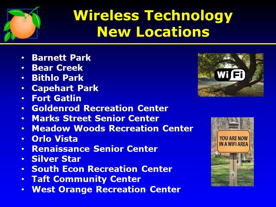 Wireless Technology New Map Locations