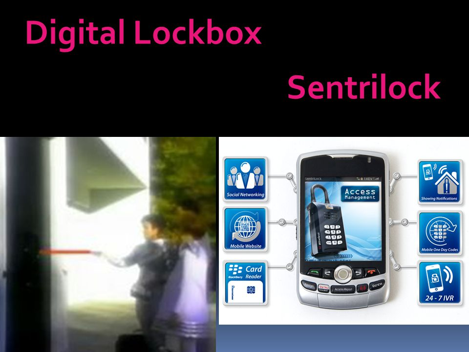 Digital Lockbox Sentrilock