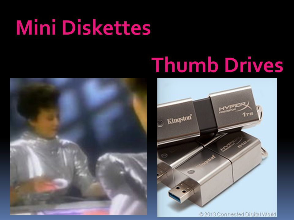 Mini Diskettes Thumb Drives