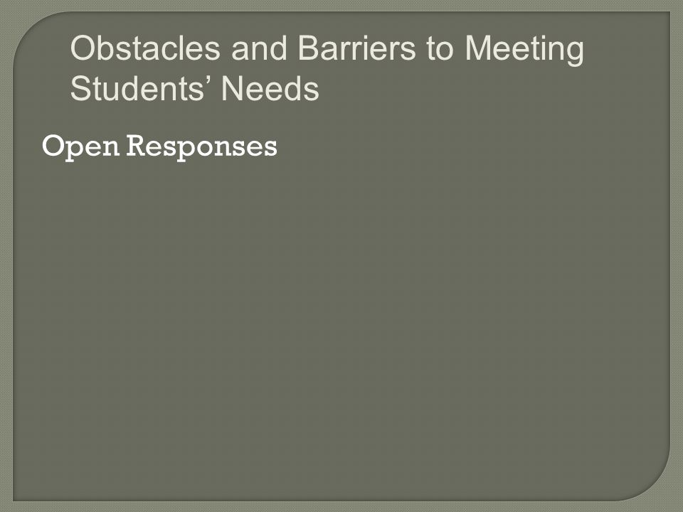  Structures are necessary for students  Need for consistency among the faculty  Predictable routines in every classroom Posting an agenda Establishing an opening routine Establishing a closing routine School-Wide Approaches
