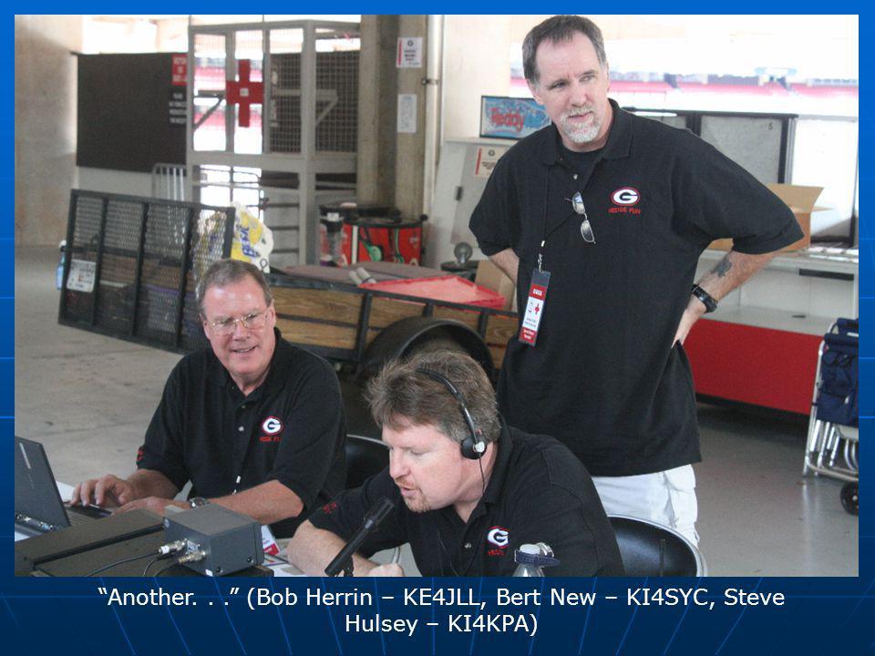 """Another..."" (Bob Herrin – KE4JLL, Bert New – KI4SYC, Steve Hulsey – KI4KPA)"