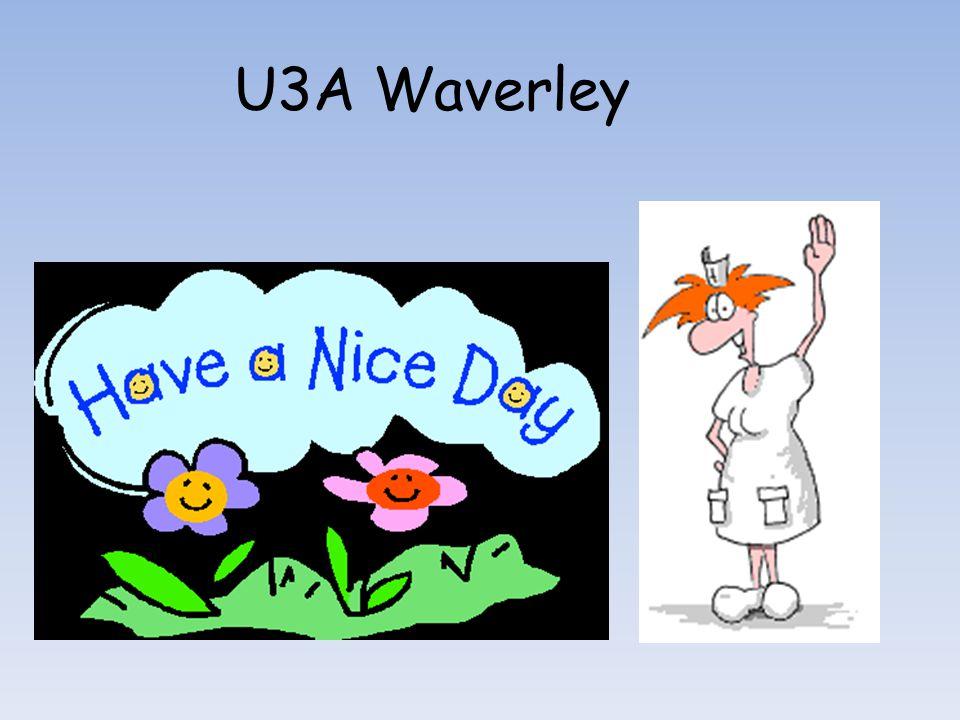 U3A Waverley