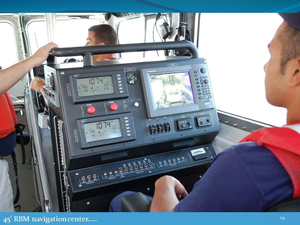 29 45' RBM navigation center…..
