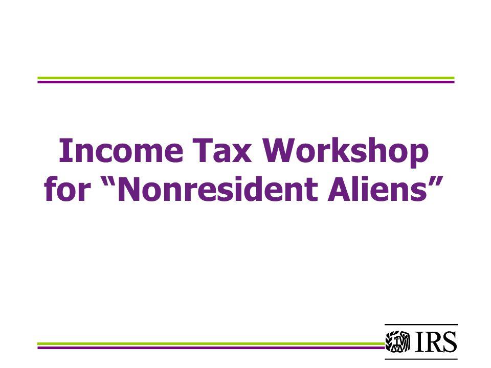 When do I file a non-resident income tax return?