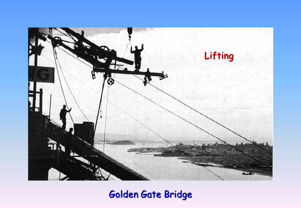 Golden Gate Bridge Lifting