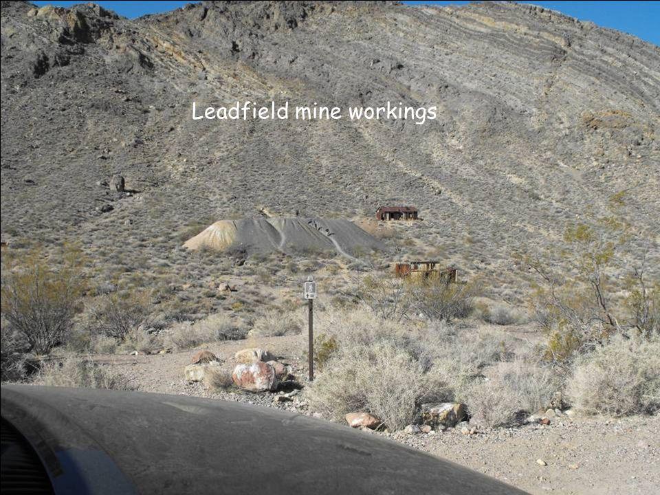 Leadfield mine workings