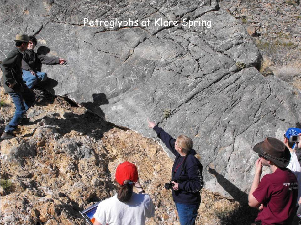 Petroglyphs at Klare Spring
