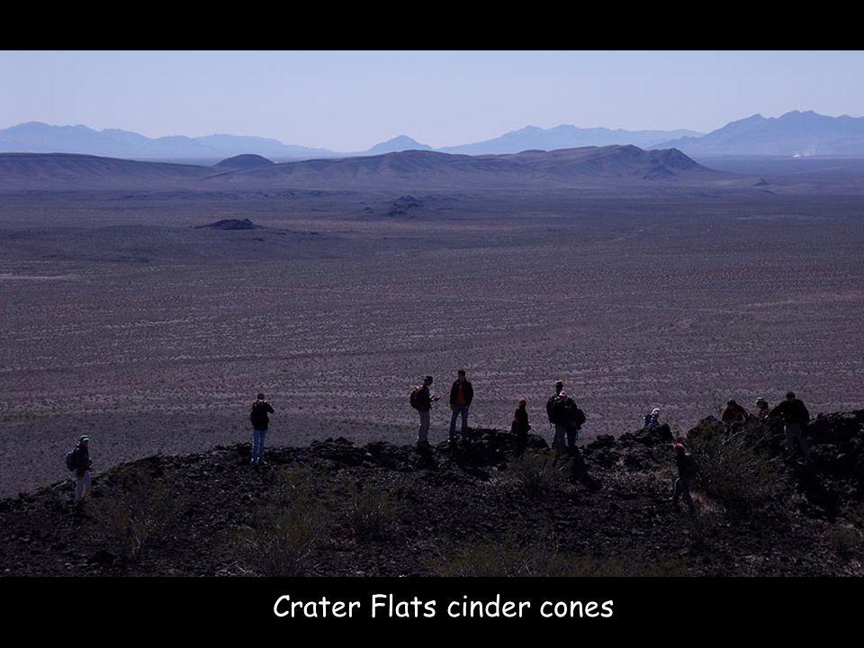 Crater Flats cinder cones