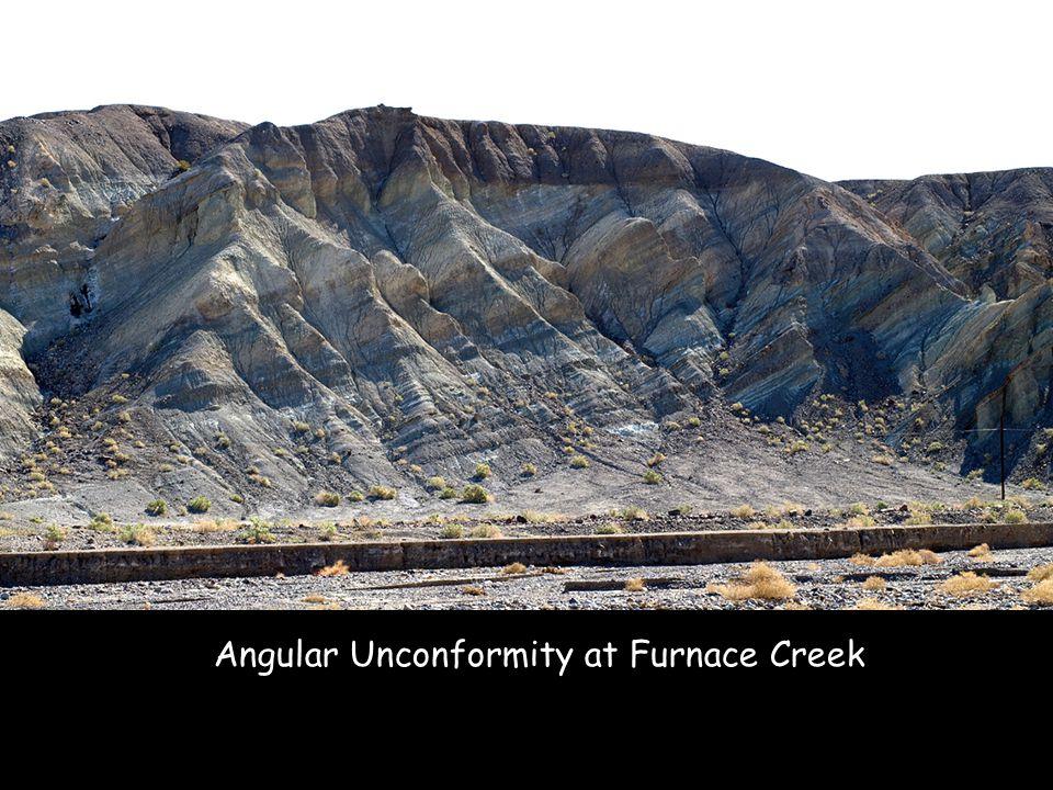 Angular Unconformity at Furnace Creek