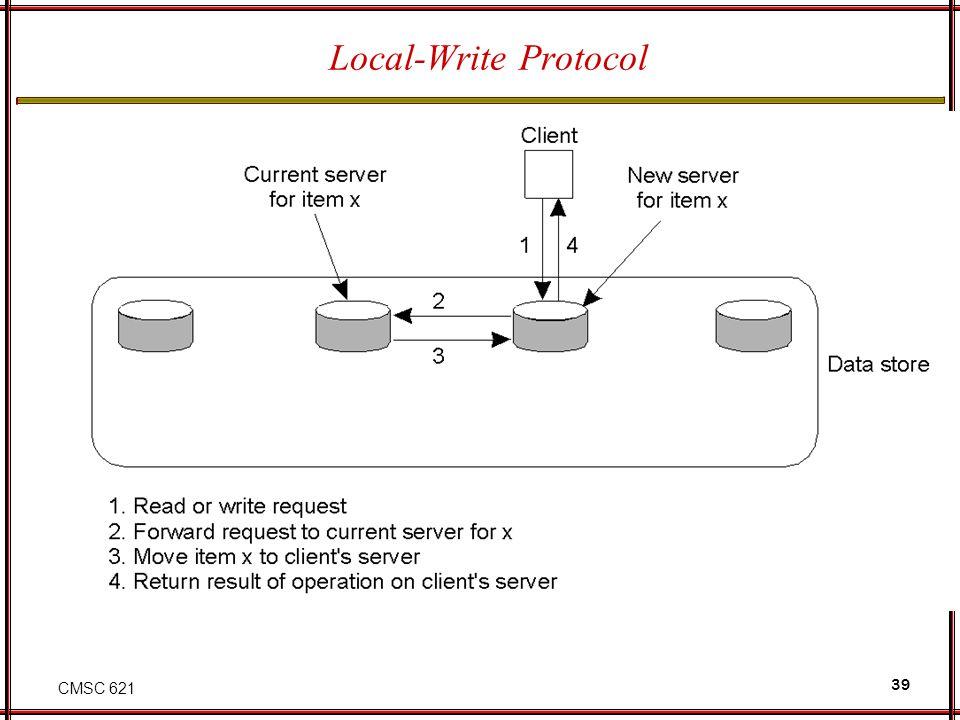 CMSC 621 39 Local-Write Protocol