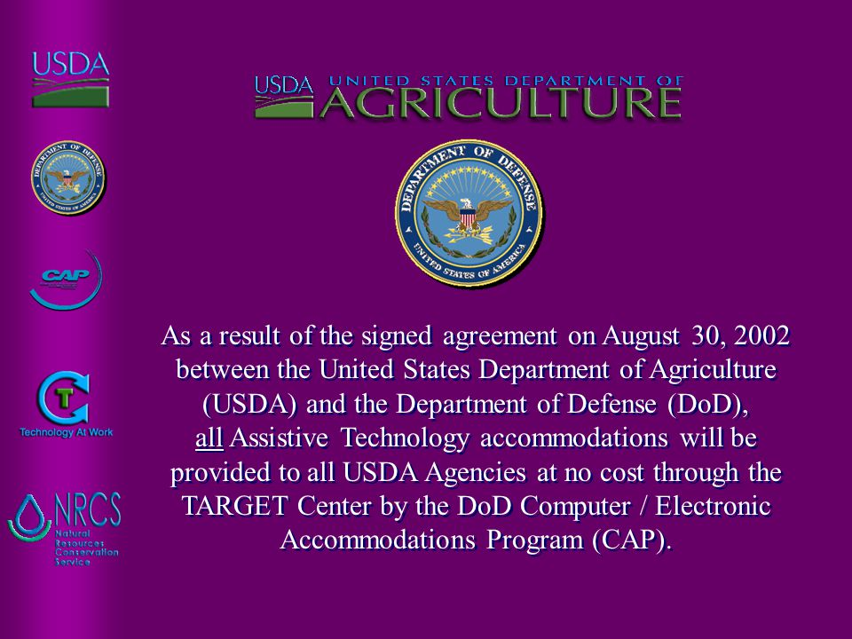 Written Requests For Record Keeping Purposes If a written or oral request is made to a USDA employee who determines he/she does not have the authority to provide the accommodation, that request shall be forwarded as soon as possible, but in no more than five business days, to the appropriate USDA official.