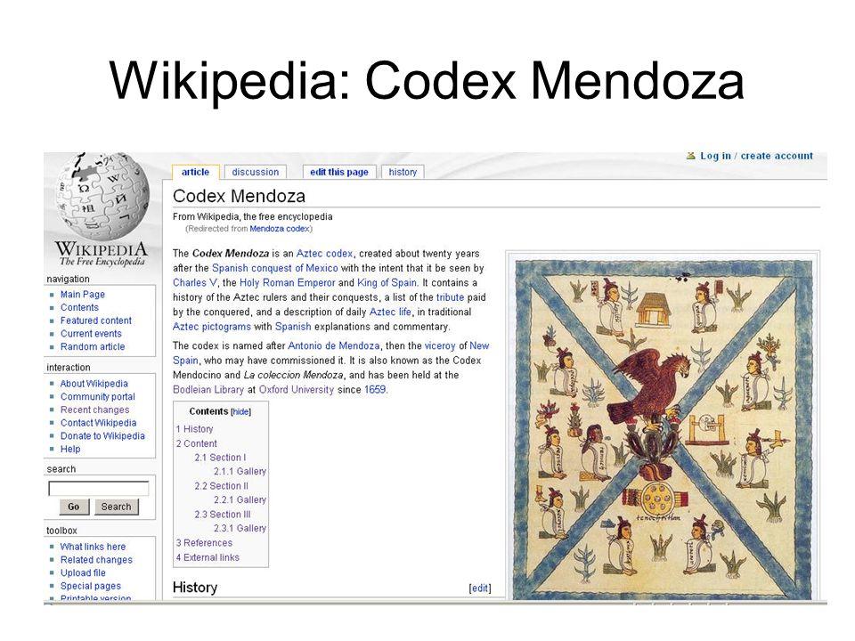 Wikipedia: Codex Mendoza