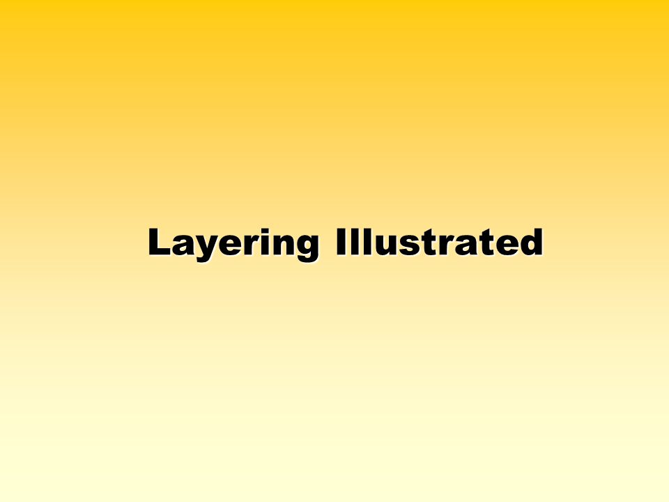 Layering Illustrated